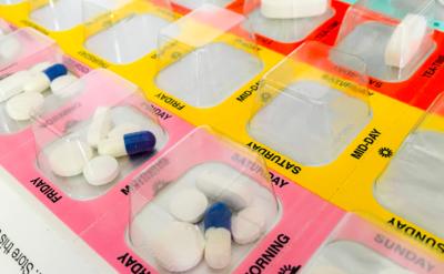 organised blister pack